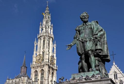 Standbeeld Rubens in Antwerpen