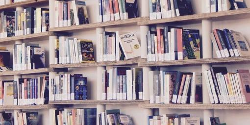Boekenrek vol boeken
