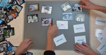 Media Mashup tafel in beeld