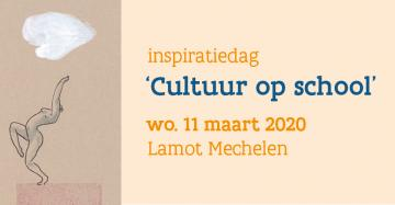 Affiche Inspiratiedag 'Cultuur op school'