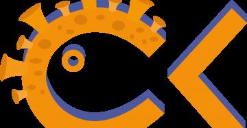 Logo Cultuurkuur met coronavirus