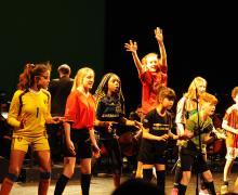 Kinderen die dansen