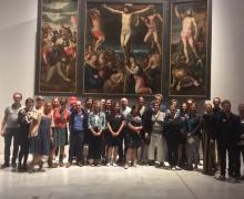 Leden van de expertopleiding 2018 in Museum M, Leuven