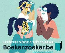 Boekenzoeker.be sticker