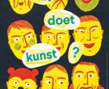 poster aankondiging jeugdboekenmaand kunst