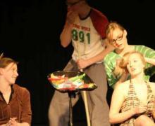 Leerlingen op podium