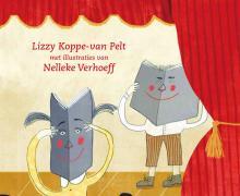 Cover 'allemaal theater' van Lizzy Koppe-van Pelt