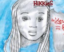 Aya Sabi schreef 'Kleur van ons hart' voor Hikkies. Op de cover een tekening van een meisje.