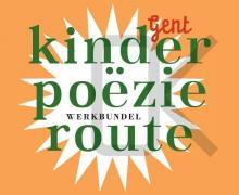 """Cover voor de werkbundel """"Kinderpoëzie route"""""""
