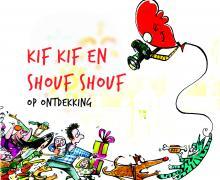 Cartoon kif kif en shouf shouf op ontdekking