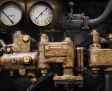 regelaar van stoommachine